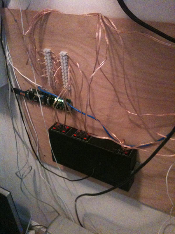 Old House - Speaker Relay Syst