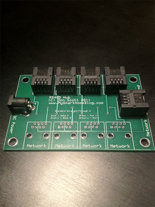 Custom RS485 Network Hub